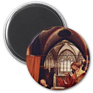 Annunciation By Grünewald Mathis Gothart (Best Qua Magnets