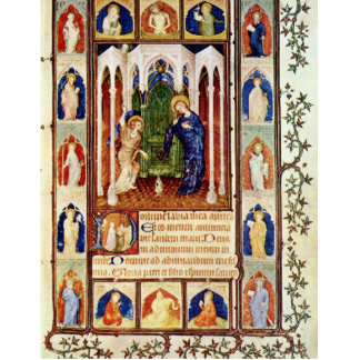 Annunciation By Hesdin Jacquemart De (Best Quality Photo Cut Outs