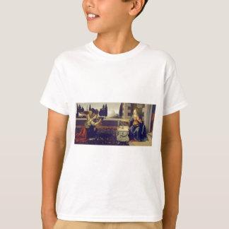Annunciation by Leonardo Da Vinci T-Shirt