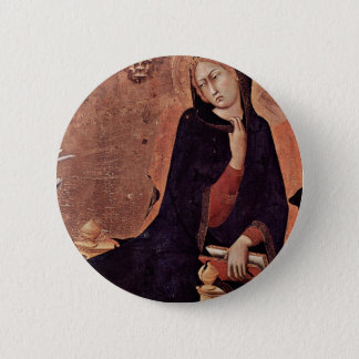 Annunciation  By Martini Simone (Best Quality) Button