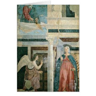 Annunciation By Piero Della Francesca Cards