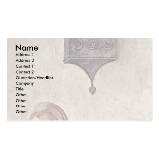 Annunciation  By Pontormo Jacopo Business Card