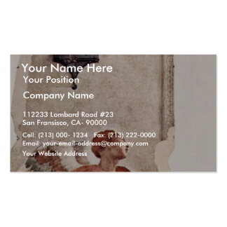 Annunciation  By Pontormo Jacopo Business Cards