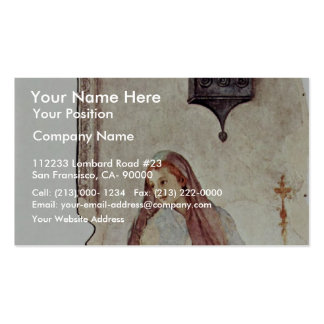 Annunciation  By Pontormo Jacopo Business Card Templates