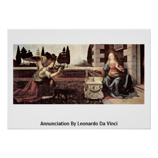 Annunciation By Poster