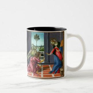 Annunciation by Sandro Botticelli Coffee Mug