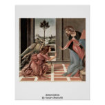 Annunciation By Sandro Botticelli Print
