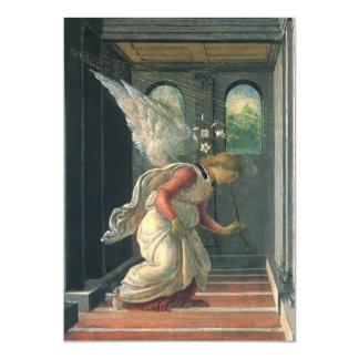 Annunciation by Sandro Botticelli, Renaissance Art Custom Invitations