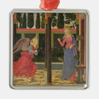 Annunciation, c.1457 (tempera on panel) metal ornament