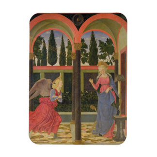 Annunciation, c.1457 (tempera on panel) flexible magnets