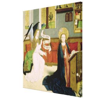 Annunciation, c.1470-80 canvas print