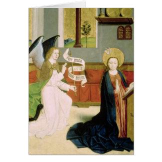Annunciation, c.1470-80 card