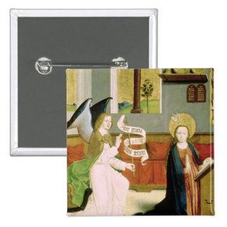 Annunciation, c.1470-80 pinback button