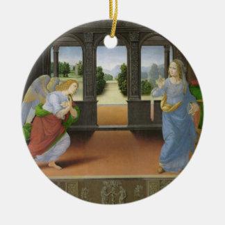Annunciation Ceramic Ornament