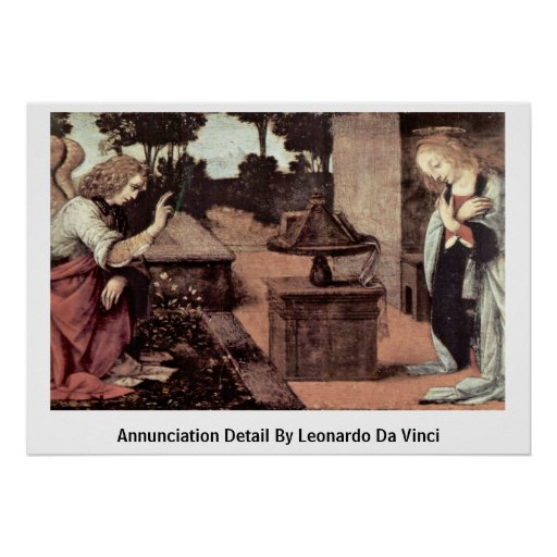 Annunciation Detail By Poster