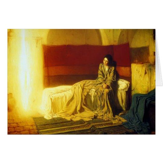 Annunciation - H.O. Tanner Card