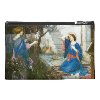 Annunciation in the Garden Travel Accessory Bag