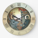 Annunciation Large Clock