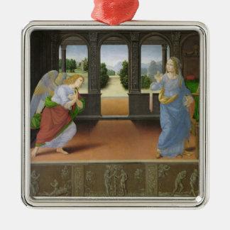 Annunciation Metal Ornament