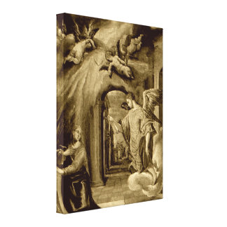 Annunciation of Blessed Virgin Mary Canvas Print