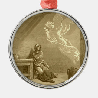 Annunciation of Blessed Virgin Mary Metal Ornament