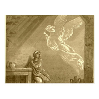 Annunciation of Blessed Virgin Mary Postcard