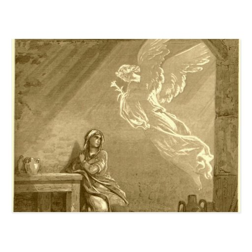 Annunciation of Blessed Virgin Mary Postcards