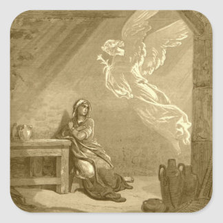 Annunciation of Blessed Virgin Mary Stickers