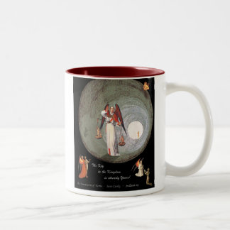 Annunciation of Karma Two-Tone Coffee Mug
