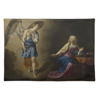 Annunciation of Mary, Velde Cloth Placemat
