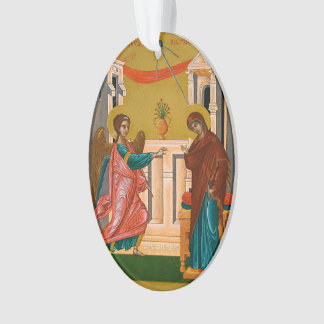 Annunciation of the Theotokos Ornament