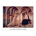 Annunciation Painted By Fra Angelico Postcards