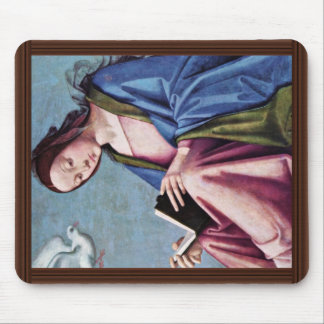 Annunciation (Reading Mary) By Lorenzo Costa Mouse Pad