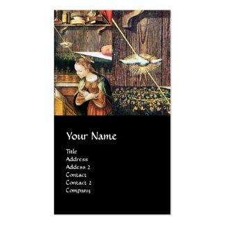 Annunciation ,Saint Emidius and an UFO Business Card
