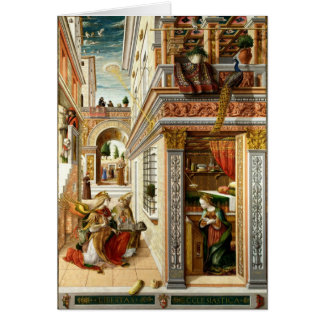 Annunciation ,Saint Emidius and an UFO Card