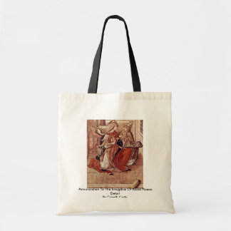 Annunciation To The Emygdius Of Ascoli Piceno Tote Bag