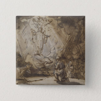 Annunciation to the Shepherds Button
