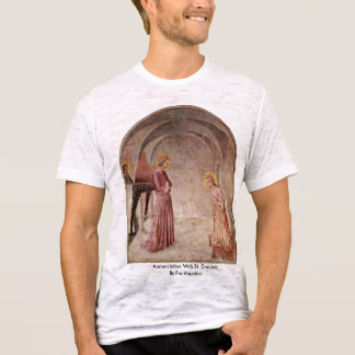 Annunciation With St. Dominic By Fra Angelico T-Shirt