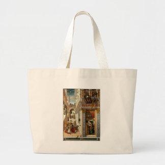 Annunciation With St. Emidius, 1486 Bags