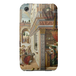 Annunciation With St Emidius 1486 iPhone 3 Covers