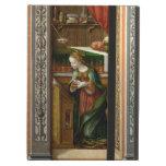 Annunciation With St. Emidius, 1486 iPad Folio Cases