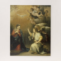 Annunctiation, Religious Fine Art Jigsaw Puzzle
