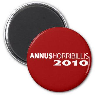 Annus Horribillis 2010 2 Inch Round Magnet
