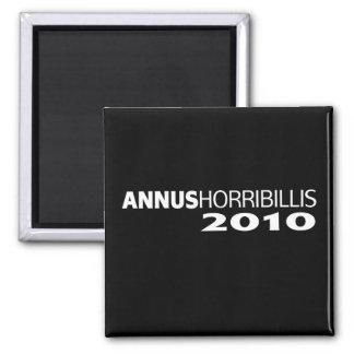 Annus Horribillis 2010 2 Inch Square Magnet