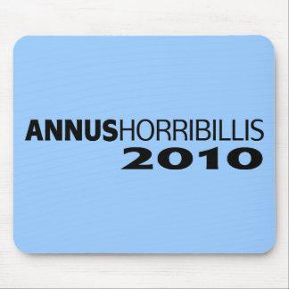 Annus Horribillis 2010 Mouse Pad