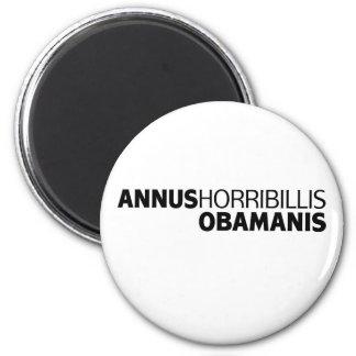 Annus Horribillis Obamanis 2 Inch Round Magnet