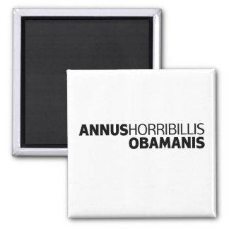 Annus Horribillis Obamanis 2 Inch Square Magnet