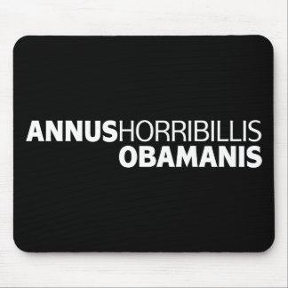 Annus Horribillis Obamanis Mouse Pad