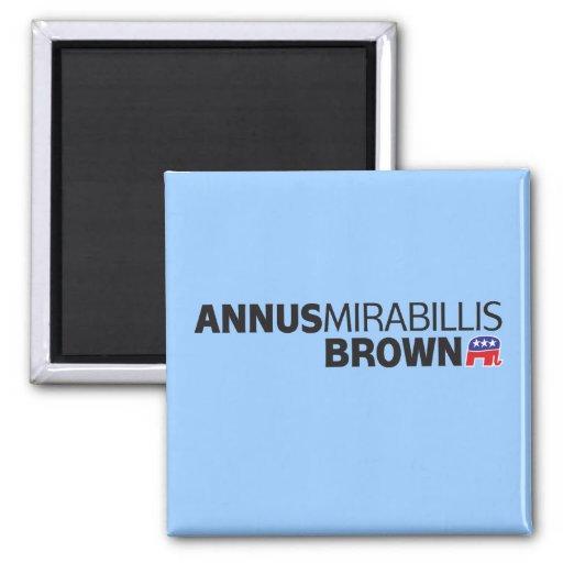 Annus Mirabillis Brown Imán De Frigorifico