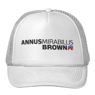 Annus Mirabillis Brown Trucker Hat